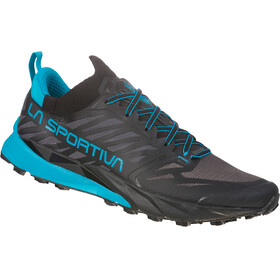 La Sportiva Kaptiva Running Shoes Men Carbon/Tropic Blue